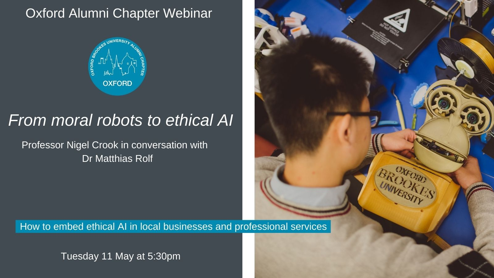 From moral robots to ethical AI