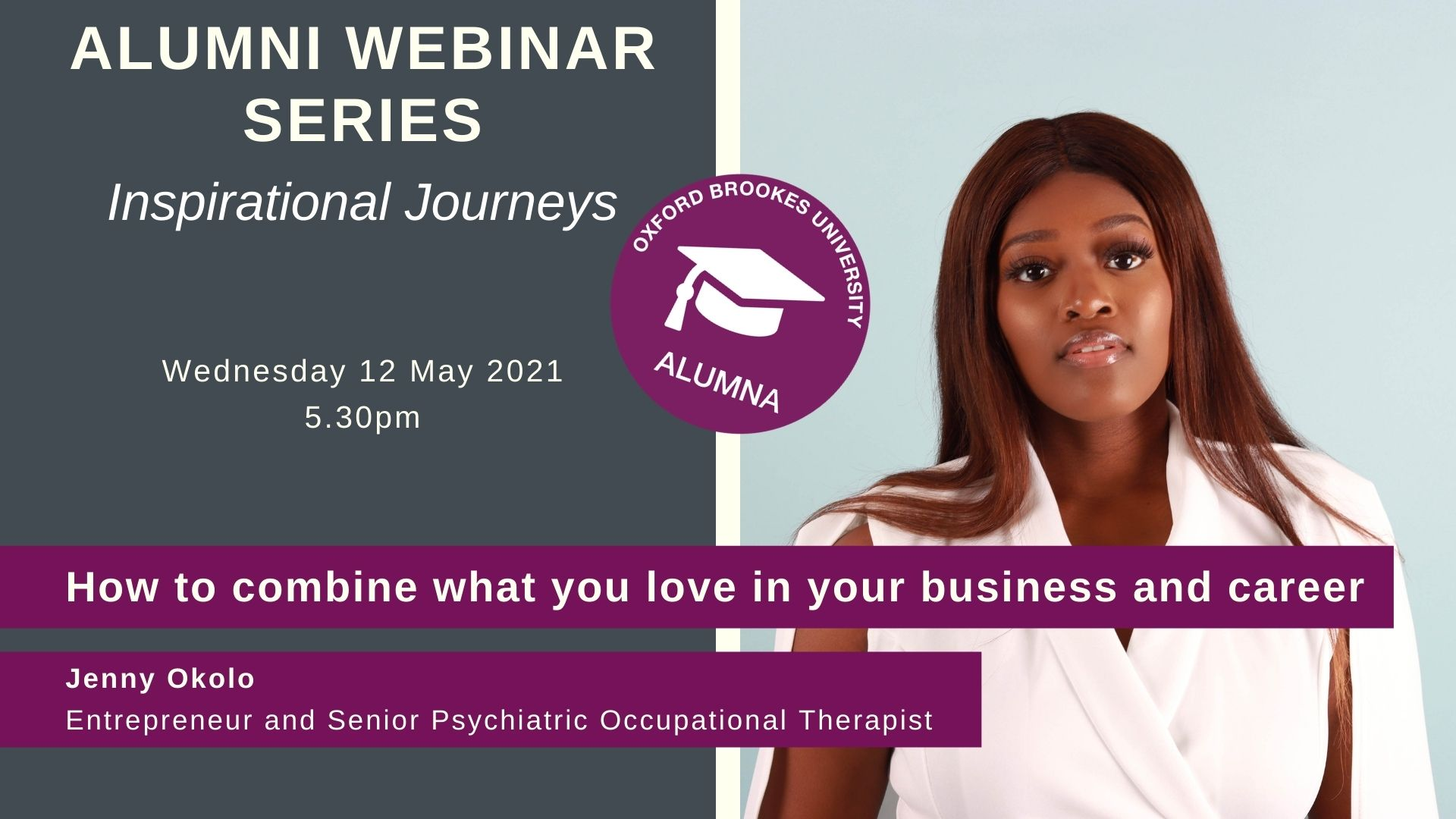 Jenny Okolo - How to combine what you love in your business and career