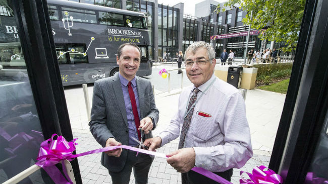 Brookes Bus launch
